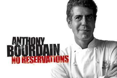 series Anthony Bourdain grill master cheff long journey No Reservations Travel Channel signed this character found writter food lover nutcase combo struck gold 