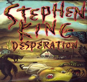 books Desperation horror novel written Stephen King people abducted possessed police officer fictional town published The Regulators Richard Bachman characters spiders rats demons hostile serpents creepy moments easy details action book