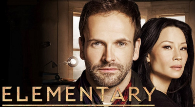 Elementary TV series child CBS crime drama aired 2012 female dr. Watson played Lucy Liu John Lee Miller Sherlock Holmes two years after BBC drama Sherlock not infringe 