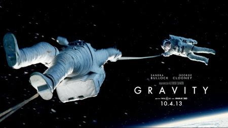 Gravity another stellar gem space mini review batch 2013 British American science fiction film co written edited produced directed Alfonso Cuaron stars Sandra Bullock George Clooney astronauts stranded mid orbit destruction shuttle return Earth Academy Awards received leading ten Academy Award nominations tied American Hustle won seven starters like film despite obvious physic flaws respecting no sounds hard decision added anon comments bellow good always rest cast far behind