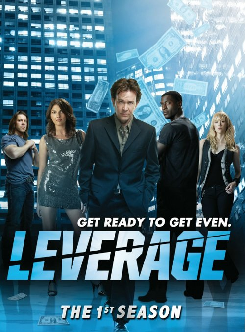 Leverage Hustle UK US hollywood touches less adult british counterpart 2008 2012 TNT television drama series hitter thief grifter hacker mastermind 