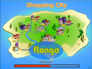 Shopping City Street tycoon like on line free cash management game retailer earning money operating shops upgraded cash flow good building level play relaxing complicated easy