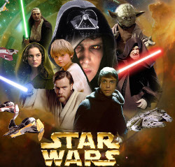 Star Wars epic saga directed George Lucas historically respectable Episode New Hope Empire Strikes Back Jedi Phantom Menace Clones Sith SF film series Darth cyborg creature movie ruthless brutal killing machine power Dark David Prowse James Earl Jones voice Sebastian Shaw Hayden Christensen Anakin Skywalker complexity role example borderline personality disorder medical students matter different public critics
