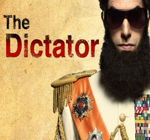 movies The Dictator classic Sacha Baron Cohen style about heroic strugle last world dictators belowed country lovingly opressed Democracy way 